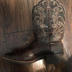 Ariat brown boots size 7.5